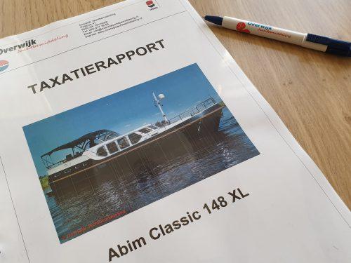 Taxatierapport Overwijk Jachtbemiddeling